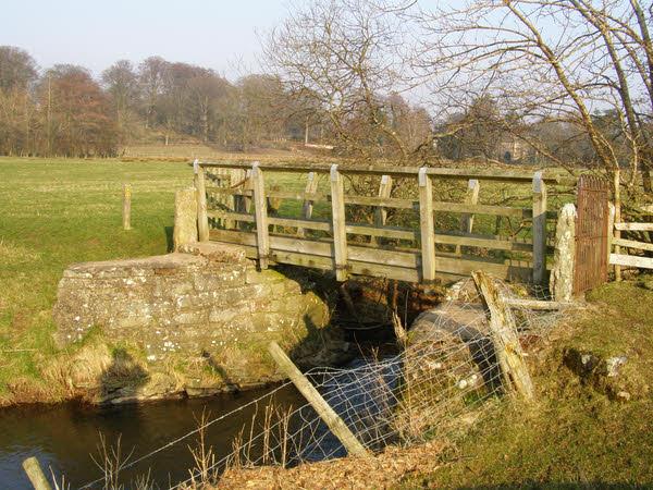 Footbridge near Warcop Village