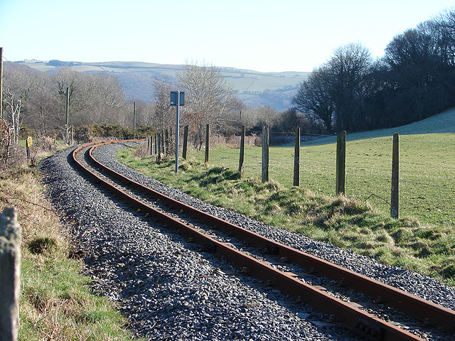 Vale of Rheidol Railway track
