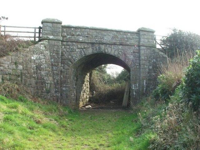 Bridge at Truthall Halt