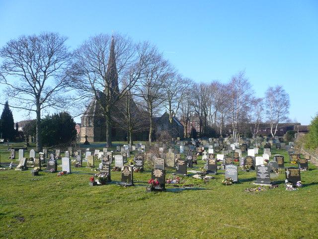 Calow Church - View from Church Lane