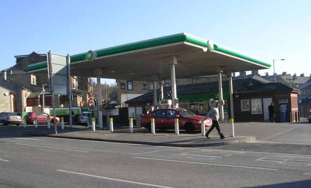 BP Filling Station - Barkerend Road