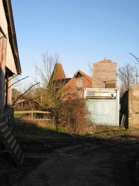 Oast House at Forstal Farm, Appledore Road, Tenterden