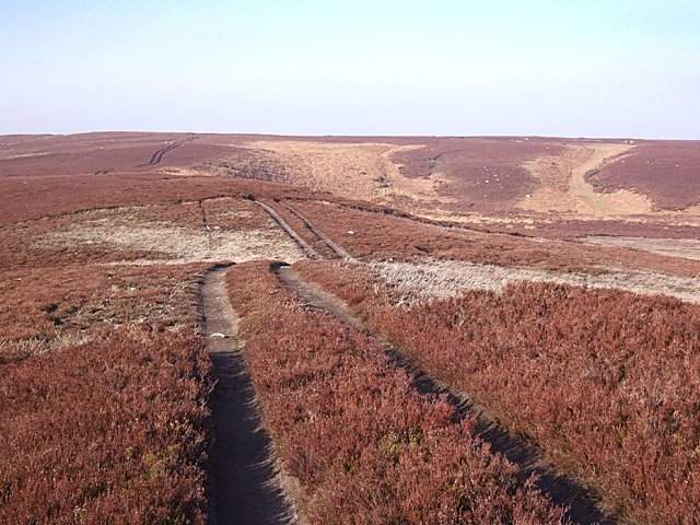 Grouse shooters' track over Acton Fell
