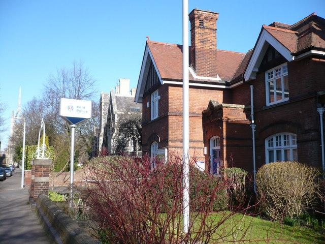 Faversham police station in Church Road