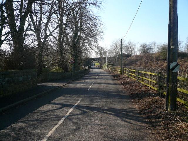 Approach to Railway Bridge