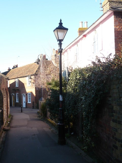 Gatefield Lane, leading to Preston Street