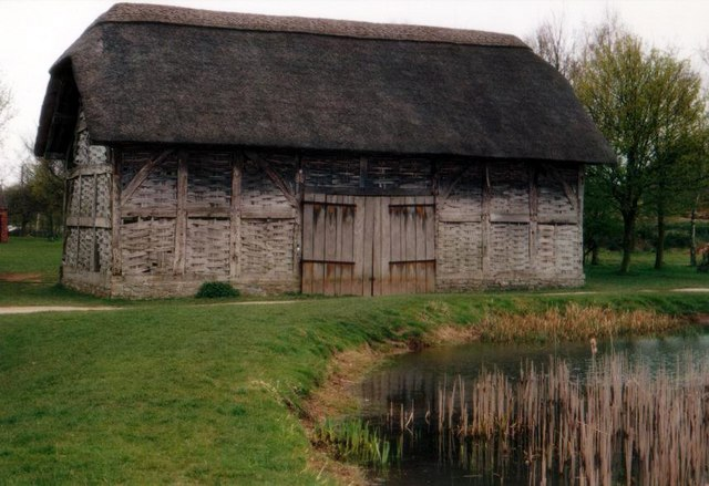 Avoncroft Museum: barn from Cholstrey, Herefordshire (16-17thC)