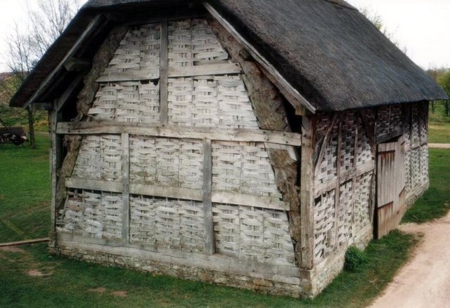 Avoncroft Museum: barn from Colstrey, Herts (16-17thC)