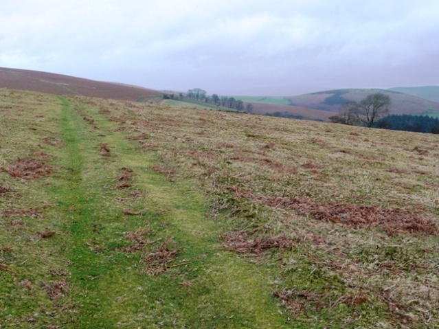 Clear route across the moors