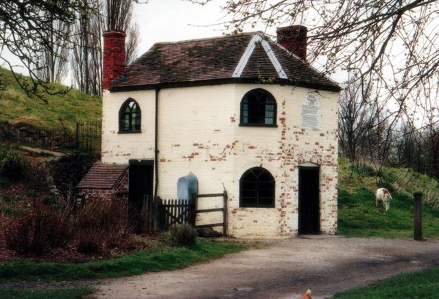 Avoncroft Museum Toll house from Little Malvern, Worcs, built 1822