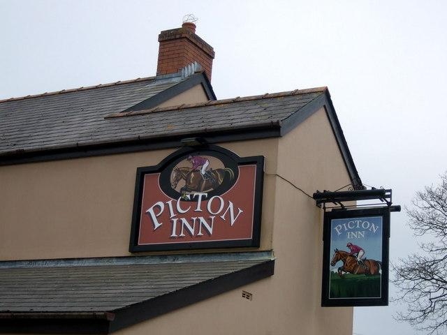 Picton Inn sign