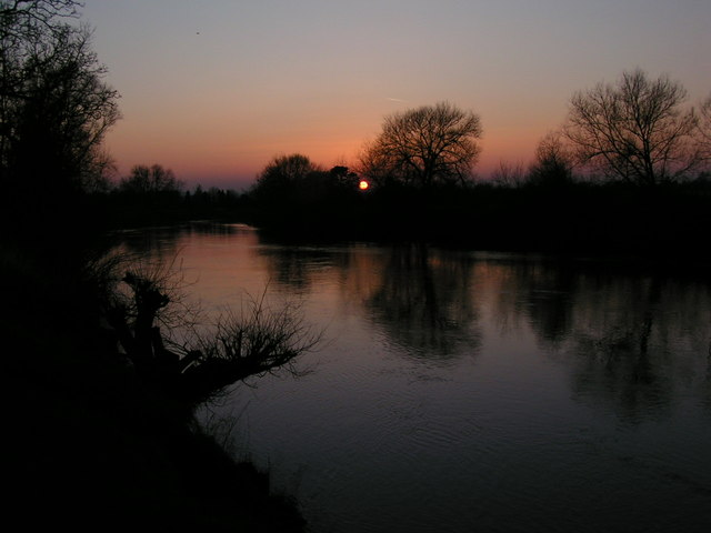 Sunset at Ross On Wye