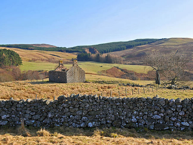 Ruined cottage at Lurg