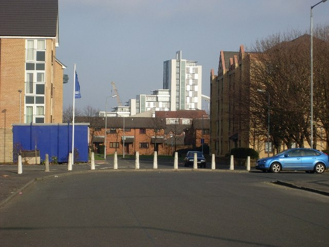 Corner of Sussex Street and Milnpark Street