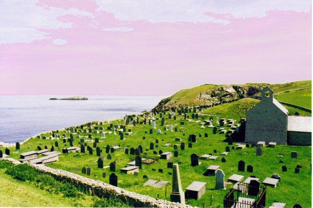 Ty'n-llan churchyard