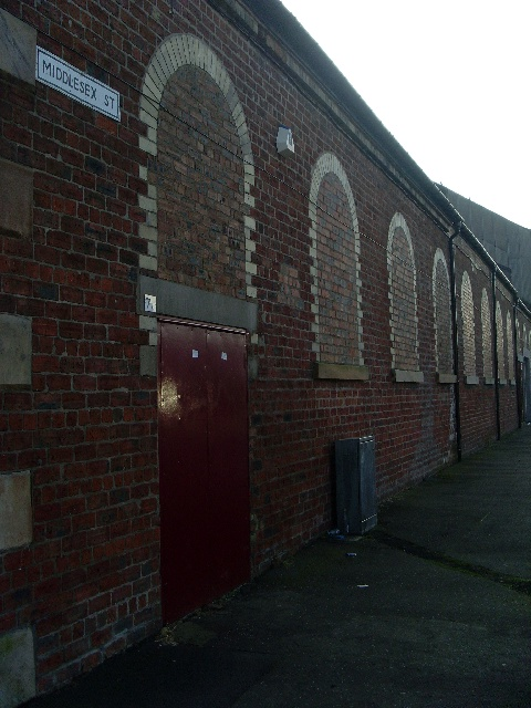 Old building on Middlesex Street, Kinning Park