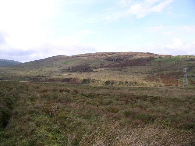View of Balrazzie Fells