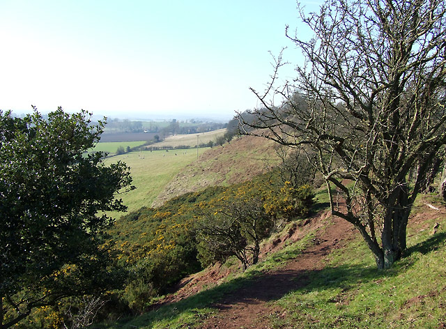 Abbot's Castle Hill, Shropshire