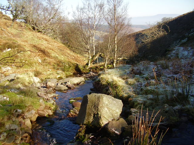 Sunshine, stream and frost