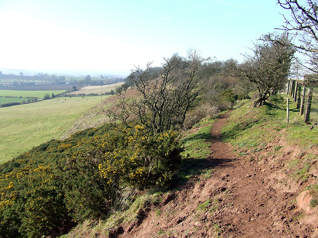 Footpath, Abbot's Castle Hill, Shropshire