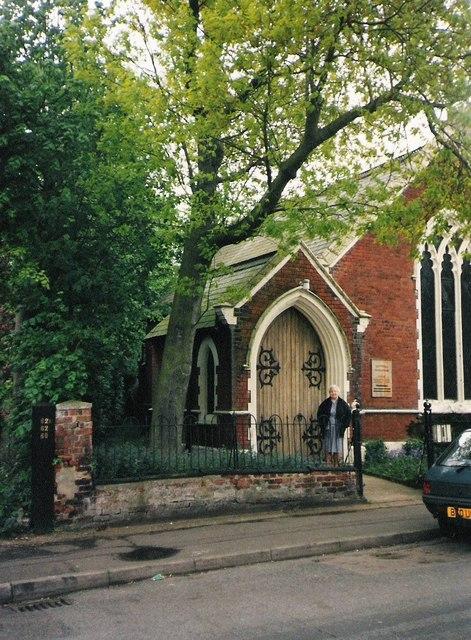 Former Norwich Chapel, Church of Jesus Christ of Latter-Day Saints, Park Lane