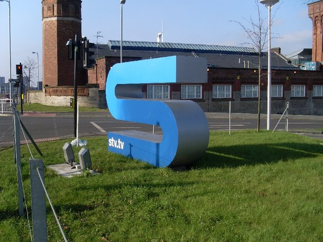 Sign at STV studios