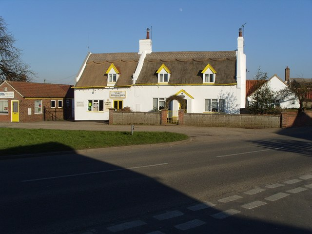 Thatched Fish and Chip Shop, Martham