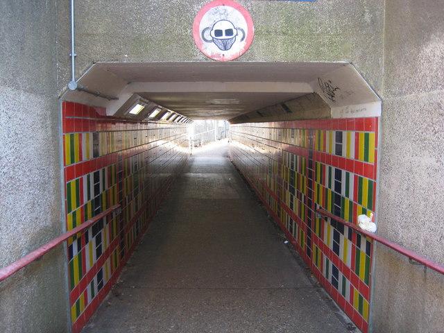 Watford: St Albans Road subway
