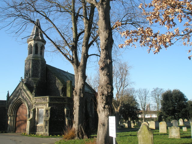 Chapel in Kingston Cemetery
