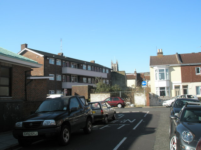 View of St Mary's Tower from Power Road