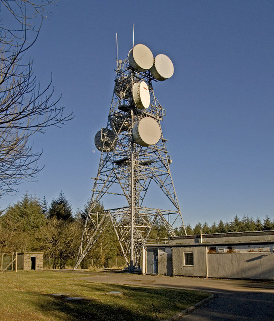Goosemoor transmitter tower