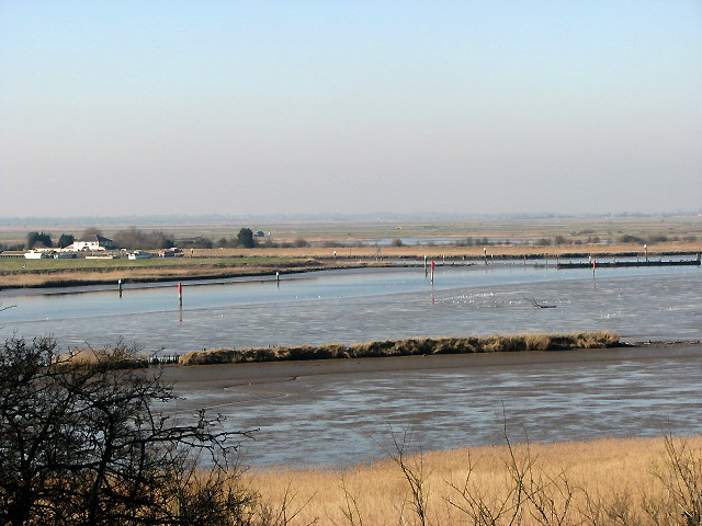 River Waveney joins Breydon Water