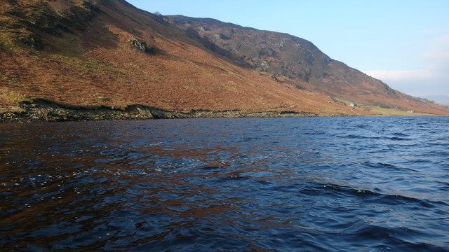 West shore of Loch Luichart