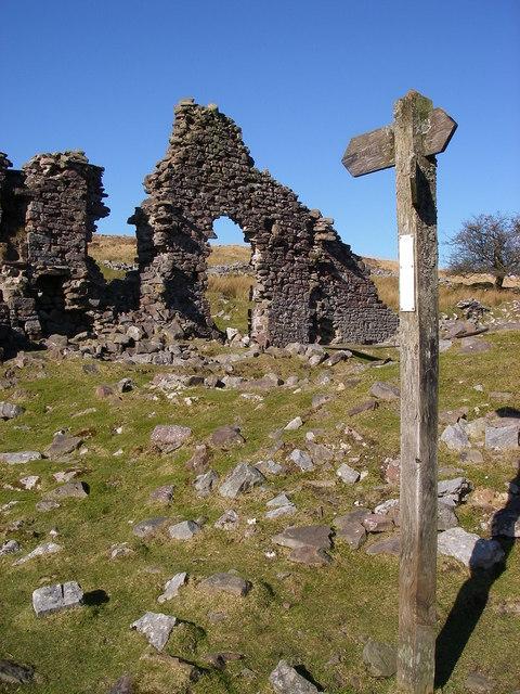 Pant Mawr ruins