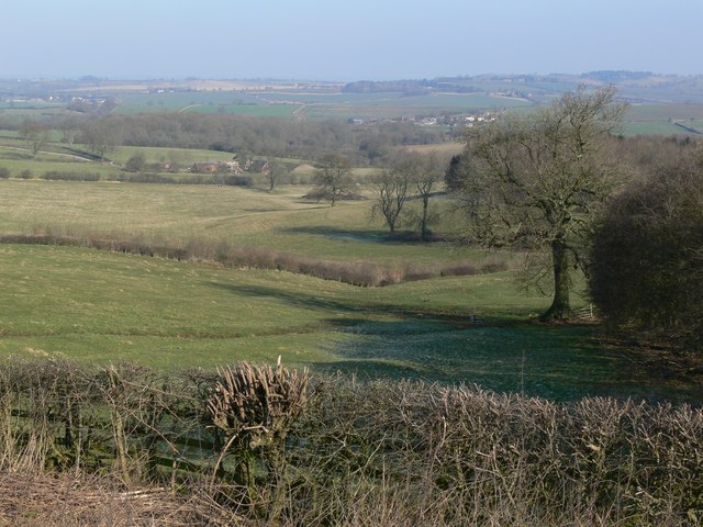 The rolling Leicestershire countryside