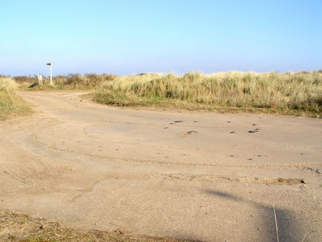 The Road to Spurn Point