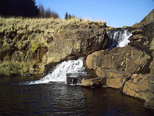 Waterfall on Rhondda Fach