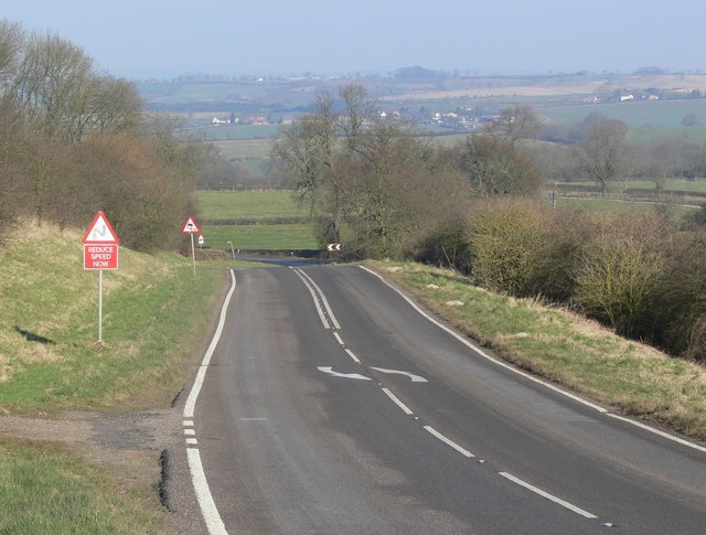 Melton Road north of Tilton on the Hill