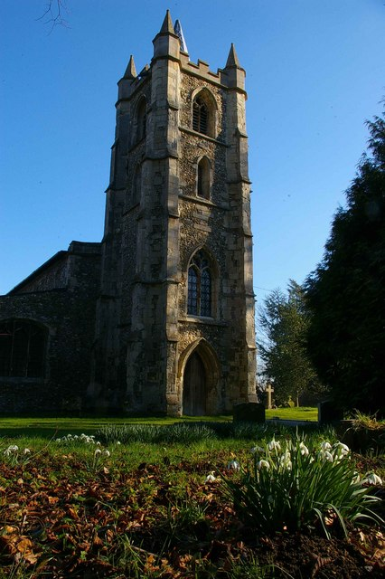 Snowdrops & St Mary