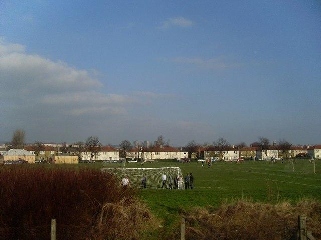 John Brown's football pitches, Whitecrook