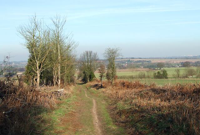 Public Way to Seisdon, Staffordshire