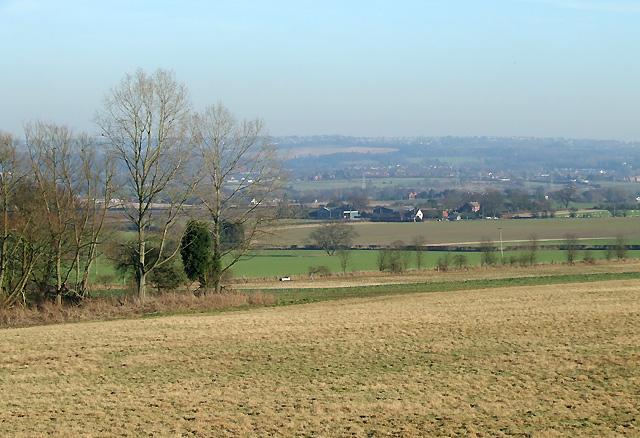 Farmland towards Seisdon, Staffordshire