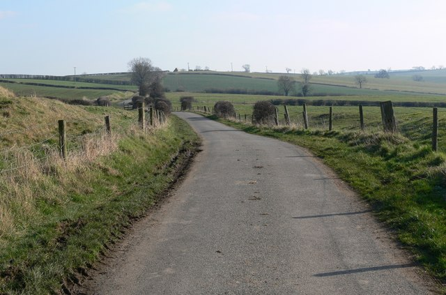 Lane east of Marefield, Leicestershire