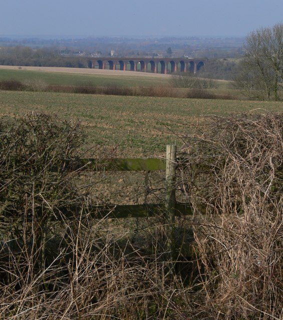 View towards John O'Gaunt viaduct