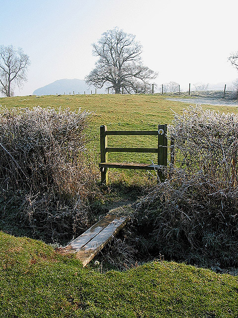 Footpath to the River Wye