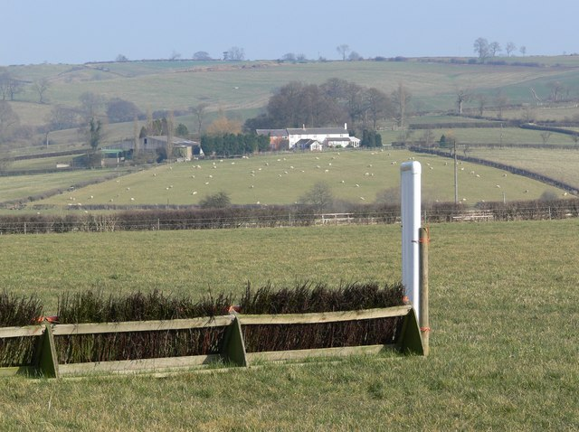 A view of Newbold Grange Farm
