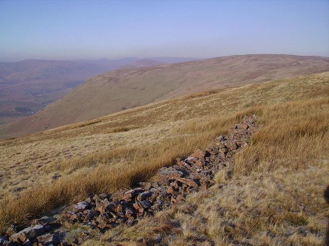 Old Wall, Borrowdale Edge