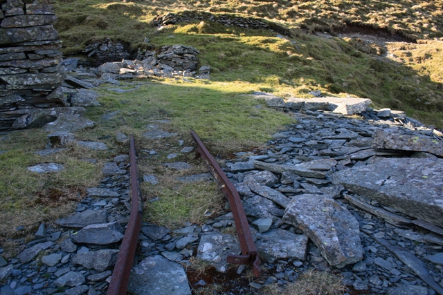 Remains of Tramway, Caudale Quarry