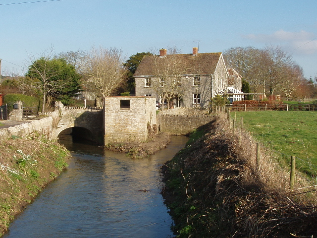 The Old Mill on the River Cam, West Camel