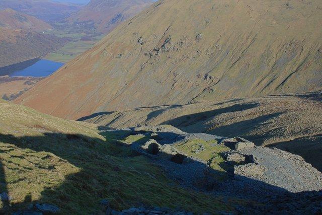 Remains of Caudale Quarry